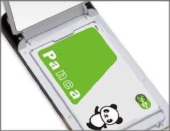 ICカード収納可能。改札もコンビニも、簡単決済。