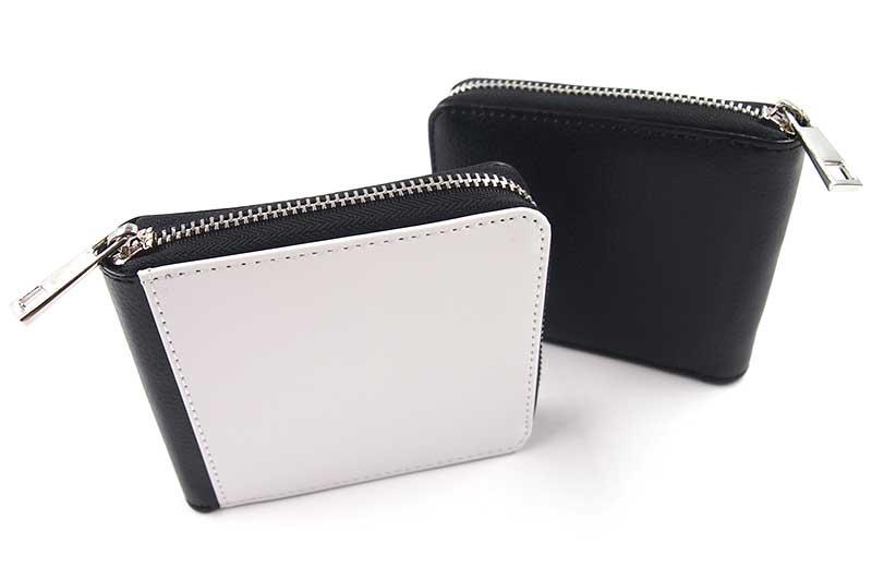 二つ折り財布(ファスナータイプ)の詳細