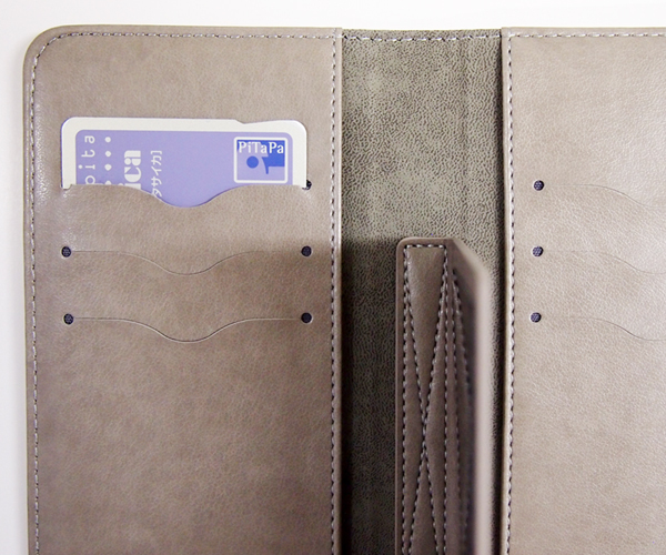 機能アップ!大容量カード収納&保護