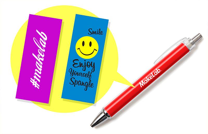 ボールペン1本につき中身のデザイン2セットをお届け(追加料金なし)