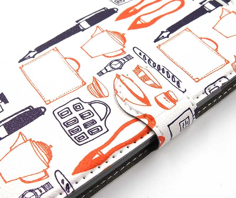 ベルト部分から全面印刷可能!オリジナルで手帳型スマホケースを作るならヨツバ印刷!