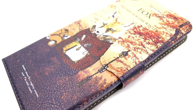 ハイクオリティー手帳型スマホケースの印刷に関して