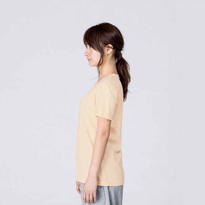 Tシャツ 女性 サイド