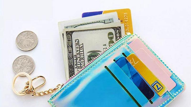 通勤や通学のパスケースとしても便利!オリジナルミニ財布&カード収納