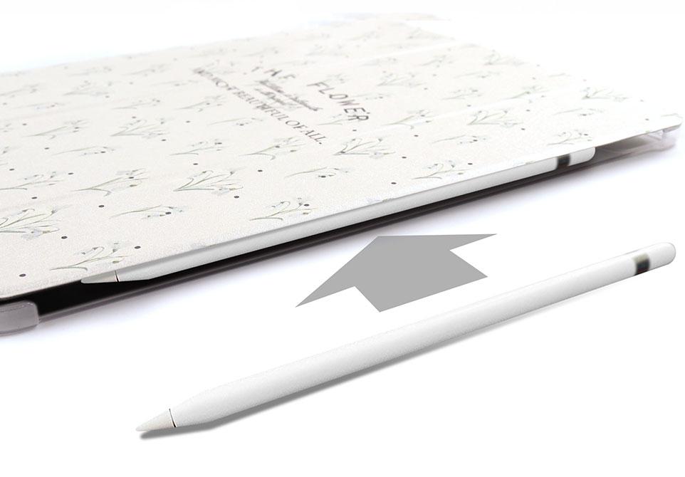 Apple Pencilのペアリング・ワイヤレス充電対応可能