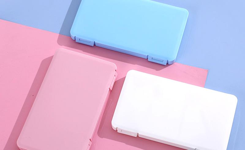 3色からなるパステル系のカラーバリエーション