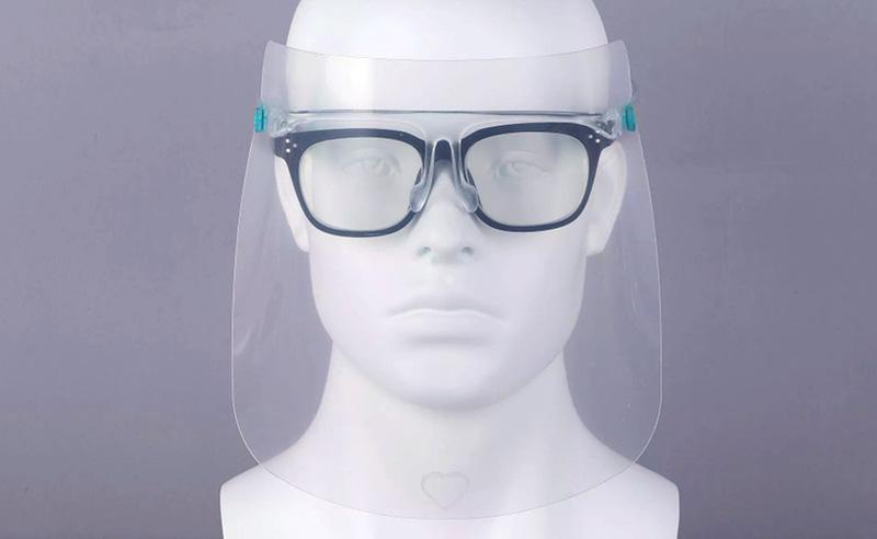 マスク・メガネの併用使用が可能