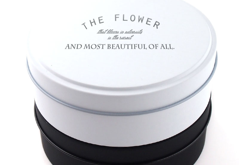デザインの美しい缶ケースにあなただけのオリジナルデザインを