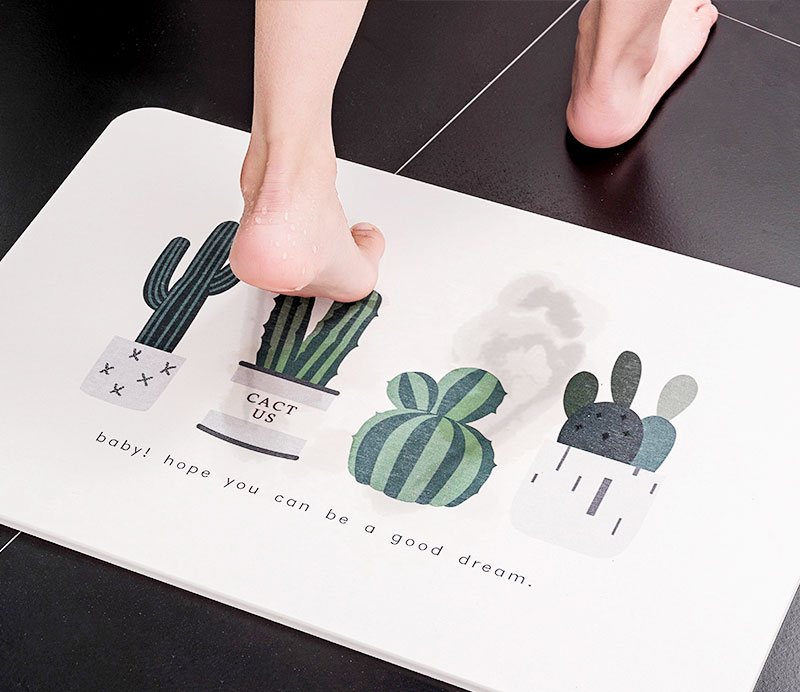 珪藻土マット・キッチンの水切りマットのオリジナル印刷